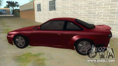 Nissan Silvia S14 Tuned for GTA San Andreas left view