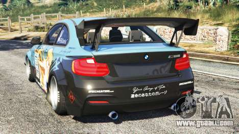 GTA 5 BMW M235i (F87) 69Works [add-on] rear left side view