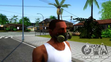 Gas Mask From S.T.A.L.K.E.R. Clear Sky for GTA San Andreas second screenshot