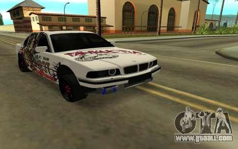 BMW 7 Series E38 for GTA San Andreas