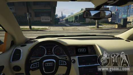 GTA 5 2009 Audi Q7 AS7 ABT right side view