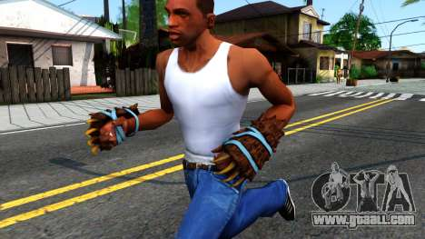 Blue Bear Claws Team Fortress 2 for GTA San Andreas