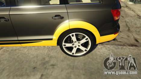 GTA 5 2009 Audi Q7 AS7 ABT rear right side view