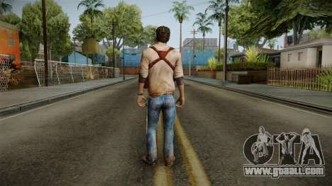 Uncharted Golden Abyss - Nathan Drake for GTA San Andreas third screenshot
