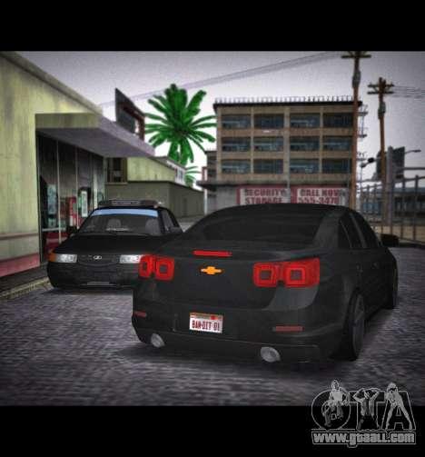 Chevrolet Malibu for GTA San Andreas left view