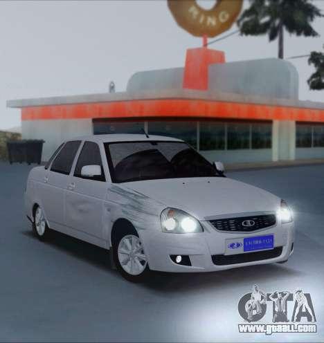 VAZ 2170 Priorik for GTA San Andreas