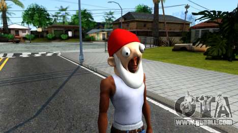 Gnome Mask From The Sims 3 for GTA San Andreas second screenshot