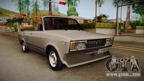 VAZ 2105 Convertible for GTA San Andreas