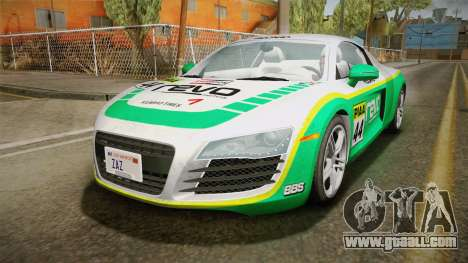 Audi R8 Coupe 4.2 FSI quattro US-Spec v1.0.0 v4 for GTA San Andreas side view