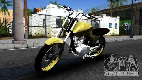 Honda Titan 150 Stunt for GTA San Andreas