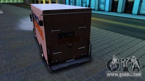 GTA IV Brute Boxville with SpandEx livery for GTA San Andreas right view
