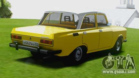 Moskvich 2140 GVR for GTA San Andreas left view