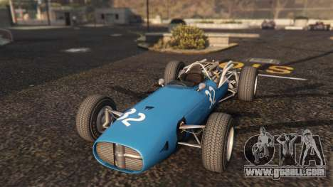 GTA 5 Cooper F12 1967 v2 back view