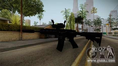 HK416 v4 for GTA San Andreas third screenshot
