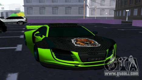 AUDI R8 LMS SPORTS for GTA San Andreas back view