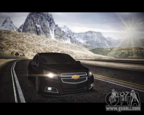 Chevrolet Malibu for GTA San Andreas right view