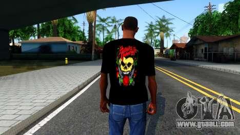 Bullet For My Valentine T-shirt for GTA San Andreas third screenshot