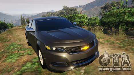 GTA 5 Chevrolet Impala 2015 rear right side view
