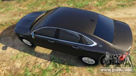 GTA 5 Chevrolet Impala 2015 back view