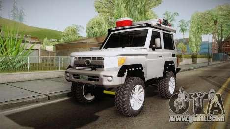 Toyota Land Cruiser Machito 2013 Sound Y for GTA San Andreas
