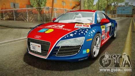 Audi R8 Coupe 4.2 FSI quattro US-Spec v1.0.0 v4 for GTA San Andreas