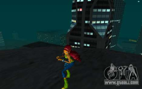 Aisha Rock Outfit from Winx Club Rockstars for GTA San Andreas second screenshot