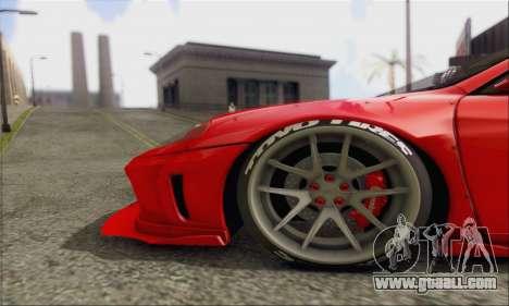 Ferrari 360 LB Work for GTA San Andreas inner view