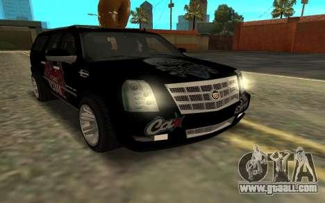 Cadillac Escalade for GTA San Andreas