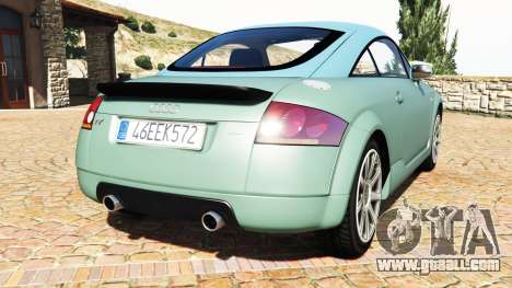 GTA 5 Audi TT (8N) 2004 v1.1 [add-on] rear left side view
