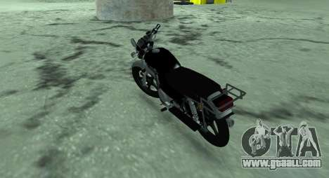 Moped alpha v.0.1 for GTA San Andreas back left view