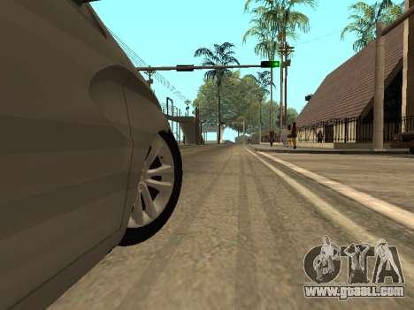 LADA Vesta BPAN for GTA San Andreas bottom view