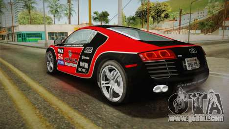 Audi R8 Coupe 4.2 FSI quattro US-Spec v1.0.0 v4 for GTA San Andreas wheels