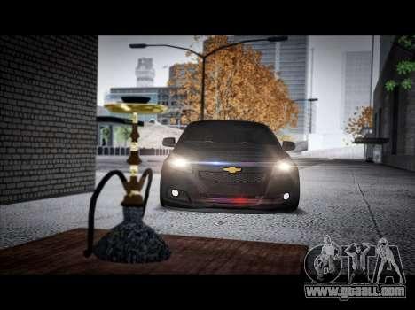 Chevrolet Malibu for GTA San Andreas back left view