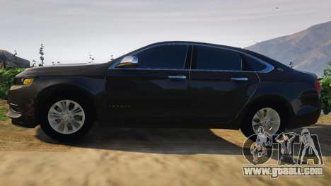 GTA 5 Chevrolet Impala 2015 left side view