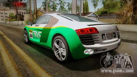 Audi R8 Coupe 4.2 FSI quattro EU-Spec 2008 Dirt for GTA San Andreas wheels
