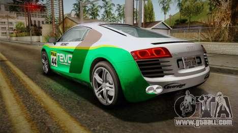 Audi R8 Coupe 4.2 FSI quattro EU-Spec 2008 Dirt for GTA San Andreas wheels