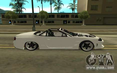 Nissan Silvia s15 Kabrio for GTA San Andreas left view
