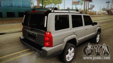 Jeep Commander 2010 for GTA San Andreas left view