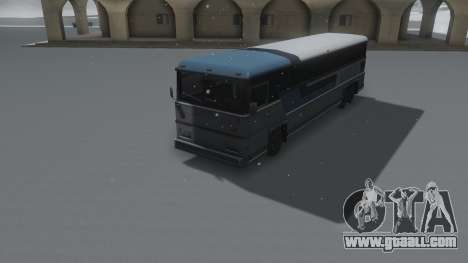 Bus Winter IVF for GTA San Andreas