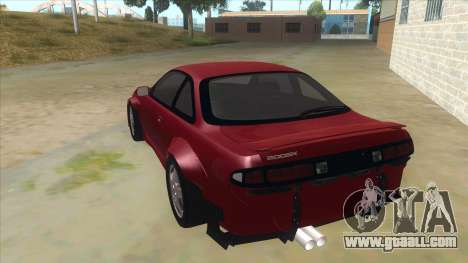 Nissan Silvia S14 Tuned for GTA San Andreas back left view