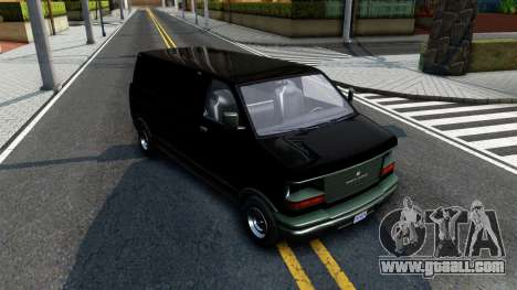 GTA V Declasse Burrito for GTA San Andreas back view