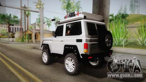 Toyota Land Cruiser Machito 2013 Sound Y for GTA San Andreas left view