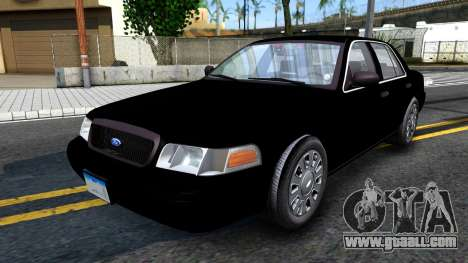 Ford Crown Victoria OHSP Unmarked 2010 for GTA San Andreas