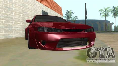 Nissan Silvia S14 Tuned for GTA San Andreas back view