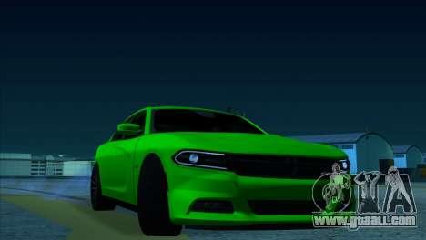 2016 Dodge Charger RТ Forza Horizon 2 for GTA San Andreas