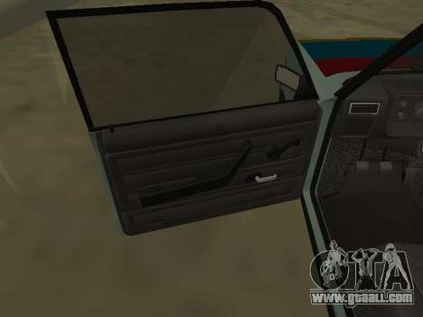 2107 for GTA San Andreas upper view