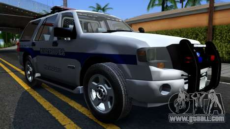 Ford Expedition SAST CVE 2008 for GTA San Andreas back view