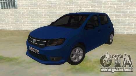 2016 Dacia Sandero for GTA San Andreas