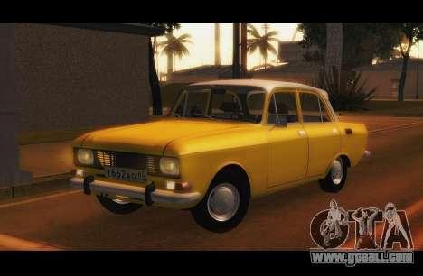 Moskvich 2140 GVR v1 for GTA San Andreas