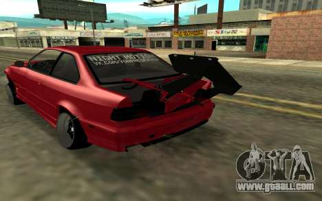 BMW E36 for GTA San Andreas back left view